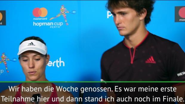 "Hopman Cup: Kerber tankt ""viel Selbstvertrauen"""