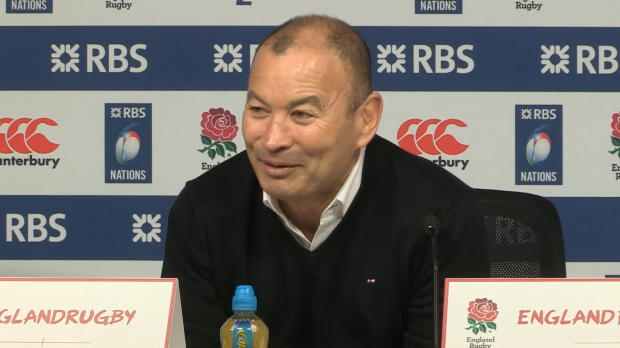 Six Nations - Entre Eddie Jones et les m�dias, c'est l'amour fou !