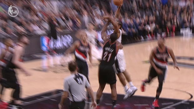 Dunk Of The Night: Kawhi Leonard