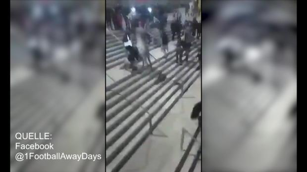 Wilder Polizei-Ritt während Madrid-Derby