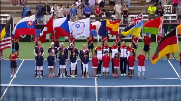 Fed Cup: Hymnen-Eklat bei USA vs. Deutschland