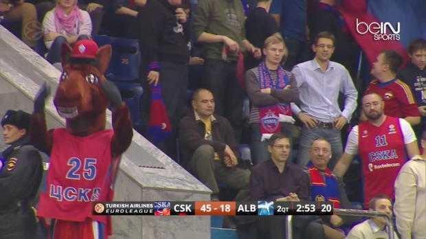 EL : CSKA Moscou 95-66 ALBA Berlin