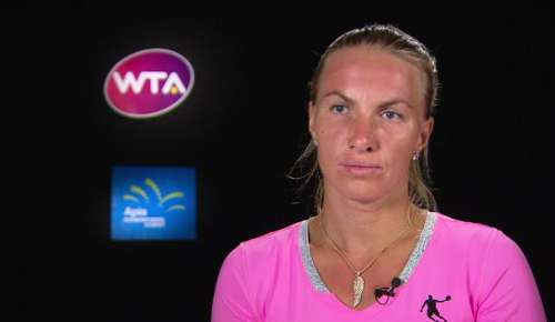 Kuznetsova Interview: WTA Sydney Final