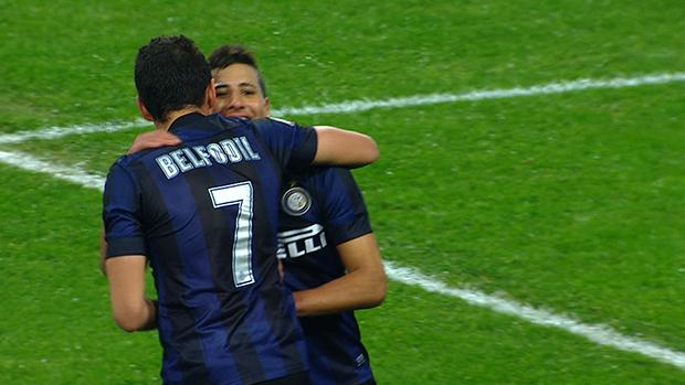 Inter 3-2 Trapani, Quarto Turno TIM Cup 2013/14