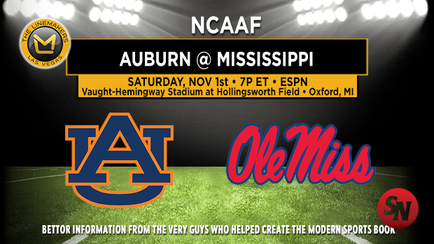 Auburn Tigers @ Ole Miss Rebels