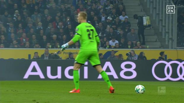 Lacher des Spieltags: Zentners Phantom-Pass