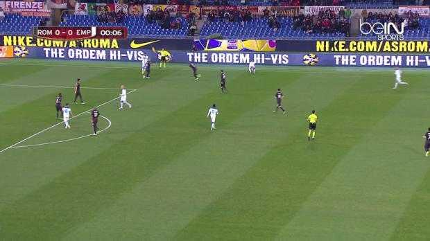 Coupe d'Italie : AS Roma 2-1 a.p Empoli
