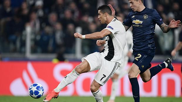 UEFA Champions League: Ronaldo mit Volley-Tor gegen Manchester United