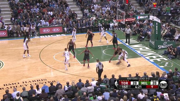 WSC: Highlights: Giannis Antetokounmpo (34 points) vs. the Raptors, 4/27/2017