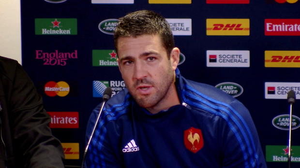 CdM 2015 - Tal�s - 'Un privil�ge de jouer contre les Blacks'