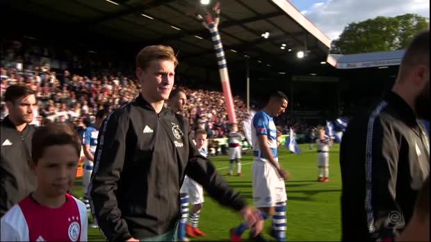 Eredivisie: de Graafschap - Ajax | DAZN Highlights