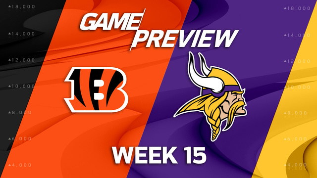 Cincinnati Bengals vs. Minnesota Vikings preview | 'NFL Playbook'