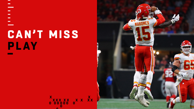 Can't-Miss Play: Mahomes, Hill unleash 69-yard TD