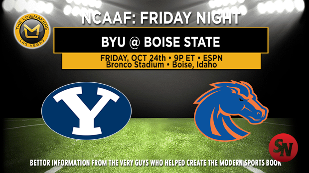 BYU Cougars @ Boise State Broncos