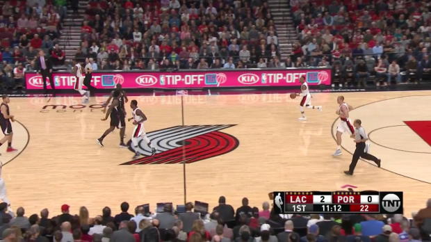 WSC: Chris Paul (27 points) vs. the Trail Blazers