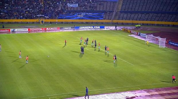 Copa Libertadores: 30 Meter? Kein Problem!