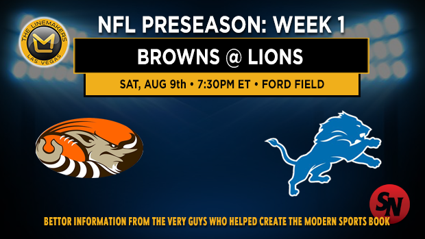 Browns @ Lions