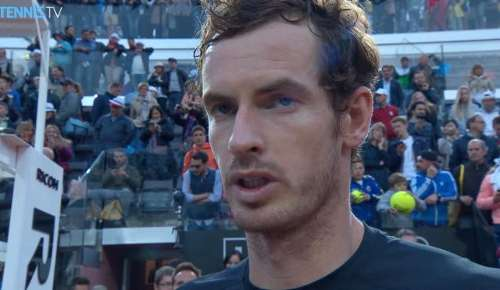 Murray Interview: ATP Rome Final