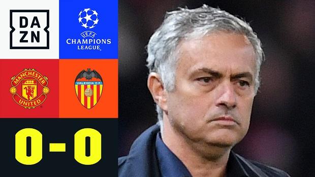 UEFA Champions League: Manchester United - FC Valencia | DAZN Highlights