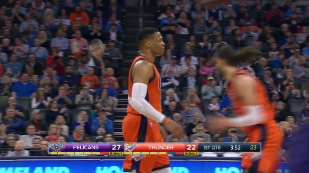 WSC: Russell Westbrook posts 41 points, 11 assists & 11 rebounds vs. the Pelicans
