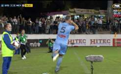 Sydney FC booked a spot in the Westfield FFA Cup Semi Finals with a comfortable 2-0 win over Melbourne City.