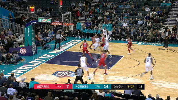 GAME RECAP: Hornets 133, Wizards 109