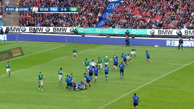 Trimble saves the day, France v Ireland, 13th February 2016