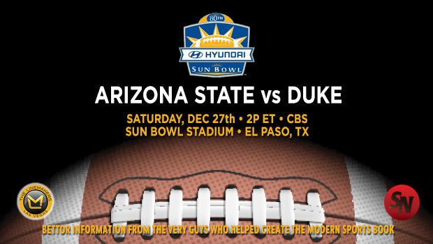 Arizona State Sun Devils vs. Duke Blue Devils