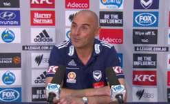 Coach Kevin Muscat thrilled with response from his players in win over Mariners.