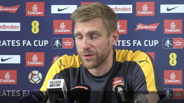 "FA-Cup: Mertesacker: ""Bereit für 120 Minuten"""