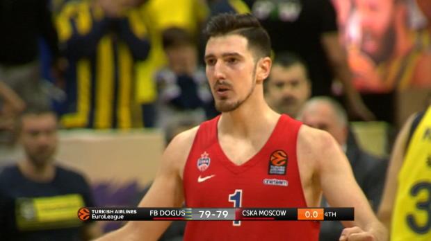 Basket : Euroligue (26e j.) - De Colo, le sauveur du CSKA