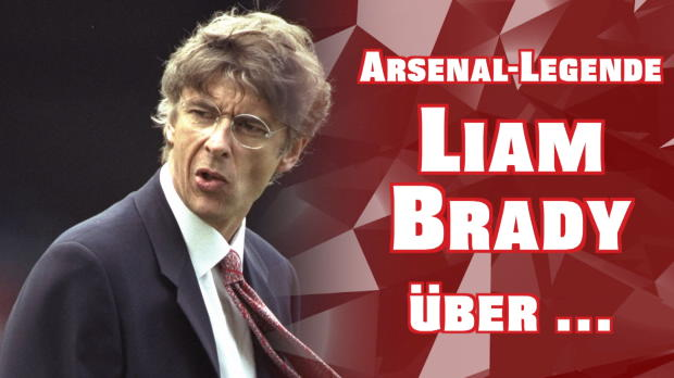 "Arsenal-Legende Brady: ""Wenger der Größte"""