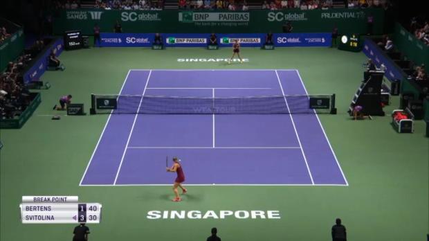 WTA Finals: Svitolina fightet sich ins Endspiel