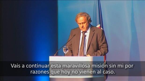 """Platini: """"Mi conciencia est� limpia"""""""