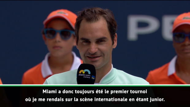 """Basket : Miami - Federer - """"Gagner ici signifie beaucoup pour moi"""""""