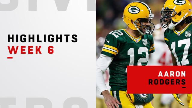 Aaron Rodgers' best plays | Week 6