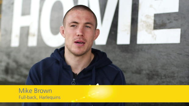 Aviva Premiership - Mike Brown is backing @GBWRNews for the #AvivaCommunityFund. Now it's your turn