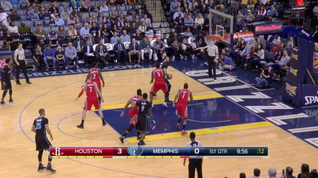 WSC: James Harden (29 pts), Marc Gasol (32 pts), Sam Dekker (30 pts) in Houston Rockets vs. the Grizzlies, 1/21/2017