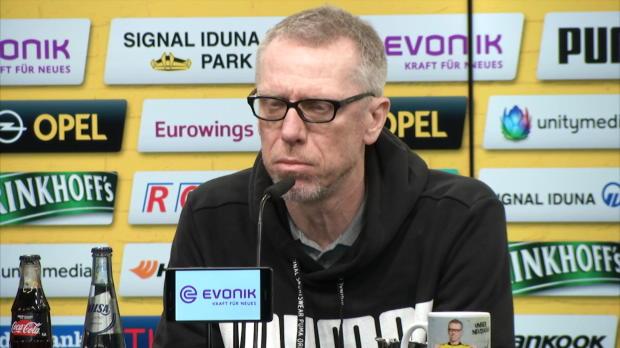 "Stögers BVB-Rückblick: ""Richtig Prügel bekommen"""