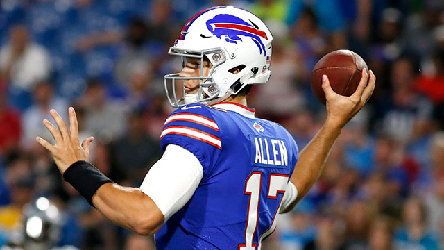 Reviewing Buffalo Bills rookie quarterback Josh Allen's preseason debut | Baldy's Breakdown