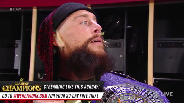 Enzo Amore has Nia Jax on his mind: Raw, Dec. 11, 2017