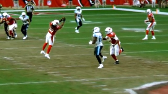 freeD: Josh Bynes snags the Mariota pass out of the sky for the INT   Week 14