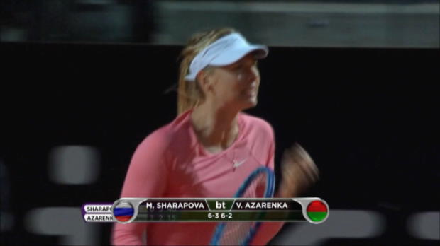 Rom: Sharapova und Suarez-Navarro zaubern