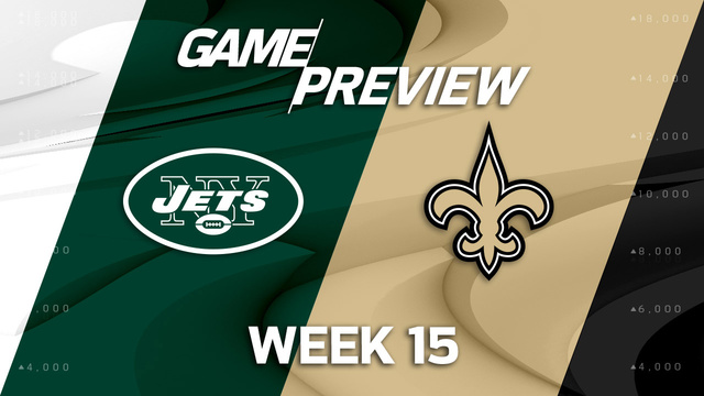 New York Jets vs. New Orleans Saints preview | 'NFL Playbook'