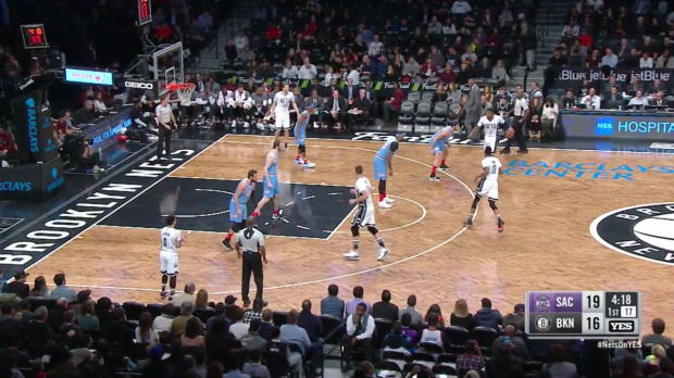 WSC: Joe Johnson with 11 Assists against the Kings