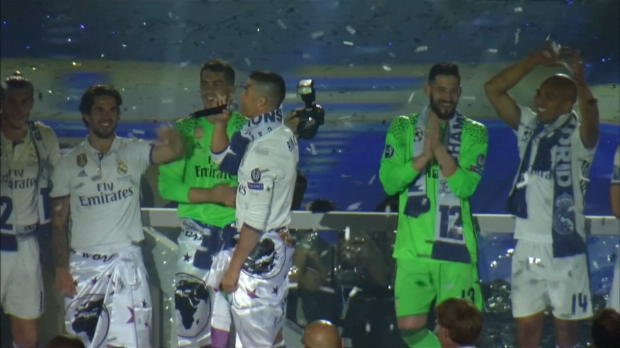 Ronaldo-Party bei Real-Feierlichkeiten