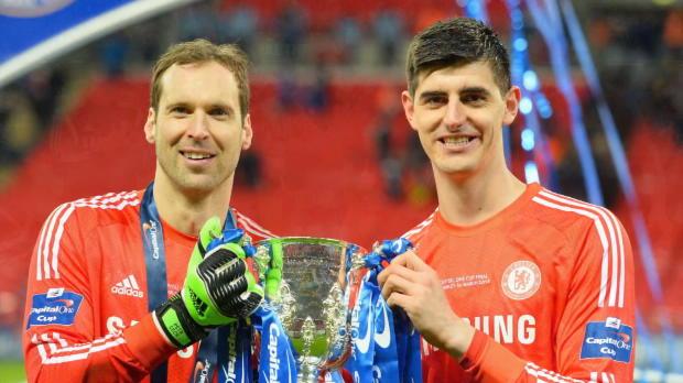 """Courtois: """"Mit Cech immer wieder gepusht"""""""