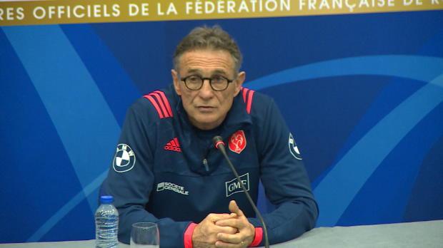 XV de France - Novès justifie la titularisation de Serin contre l'Angleterre