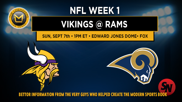Minnesota Vikings at St. Louis Rams