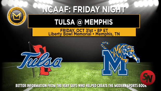 Tulsa Golden Hurricane @ Memphis Tigers